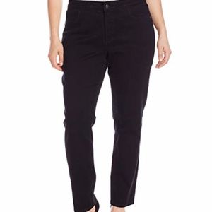 NYDJ Janice Legging Jeans 8 Dark Wash